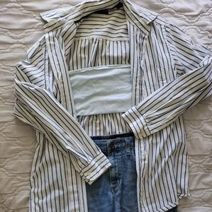 Clubroom pinstriped Button down